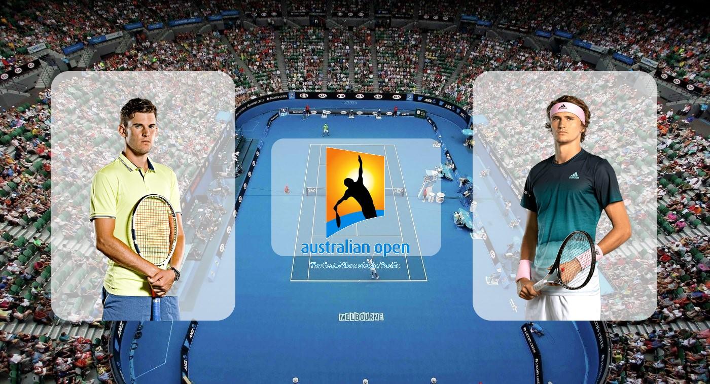 Доминик Тим – Александр Зверев. Прогноз на Australian Open 31.01.2020