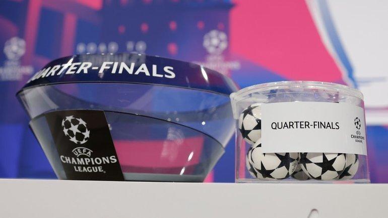 Букмекеры опубликовали коэффициенты на пары 1/4 финала еврокубков