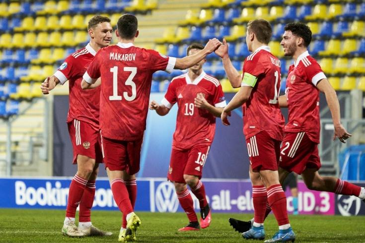 Названы шансы сборной России U-21 на плей-офф Евро-2021 после поражения Франции