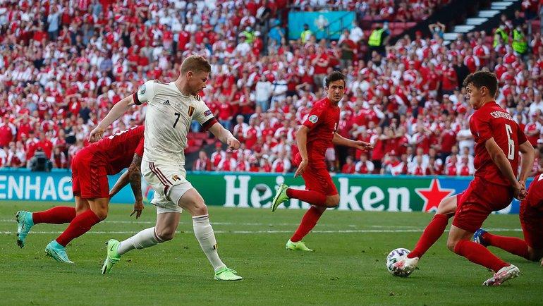Матч Дания – Бельгия принес клиентам Фонбет рекордные выигрыши